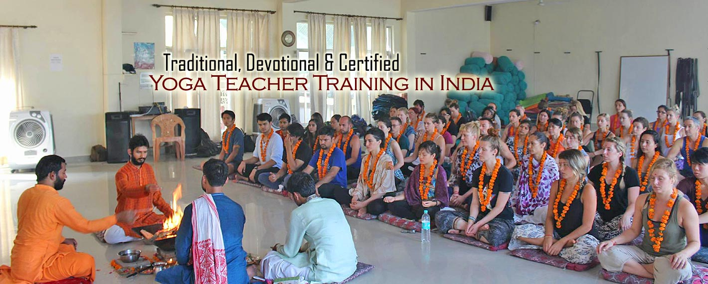 certified yoga teacher training in india