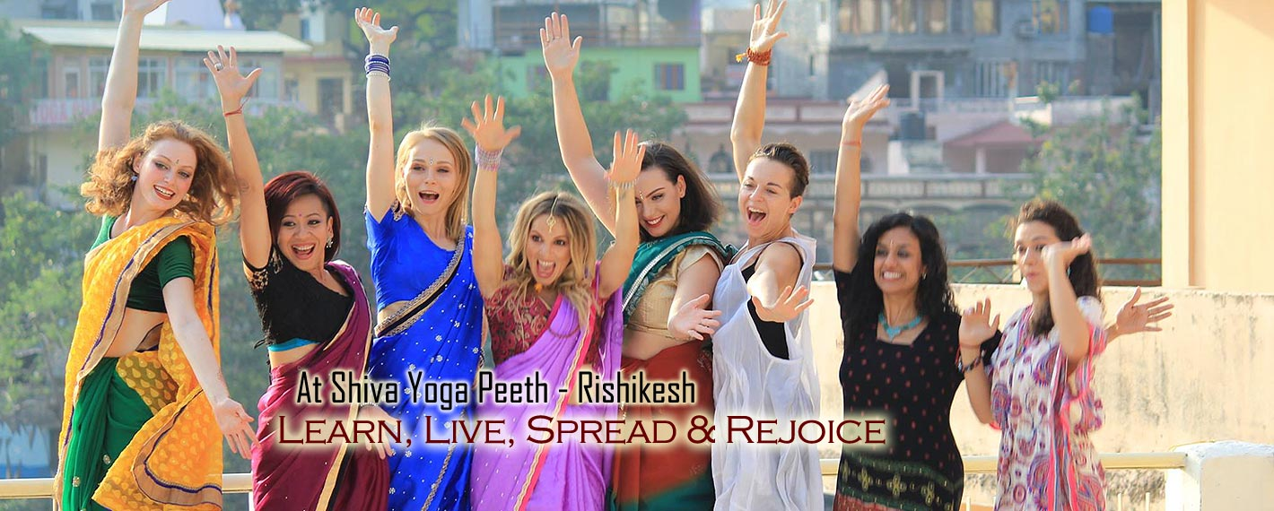 learn yoga at shiva yoga peeth rishikesh india