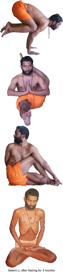 yoga pose by swami sudhir