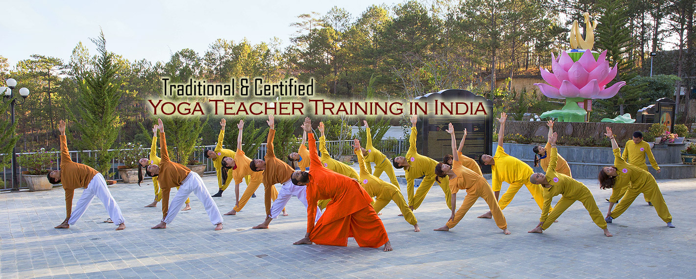 Hatha & Ashtanga Yoga Teacher Training Courses in Rishikesh,India